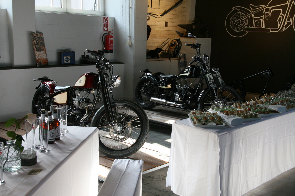 LIBERTA Motorcycles Garage